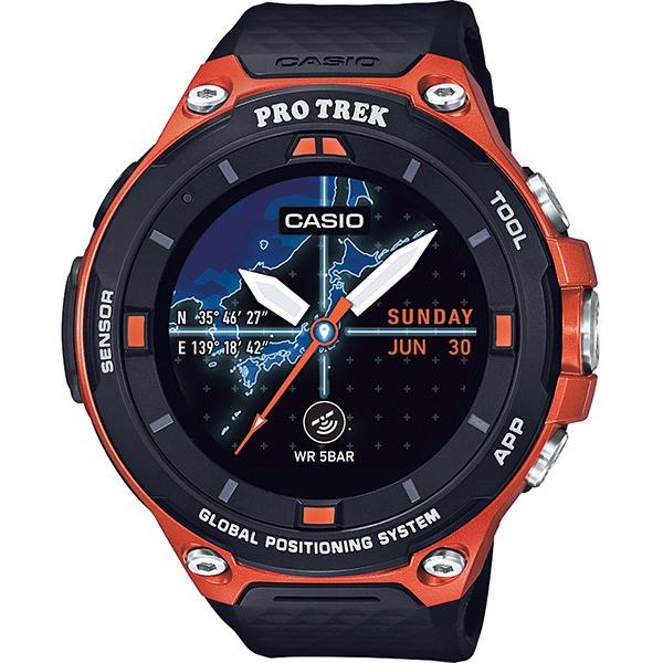 【たっぷりポイントMAX10倍! ショッピングローンMAX60回無金利】【新作】【新製品】【送料無料】【国内正規品】 PRO TREK(プロトレック)PRO TREK smart(プロトレック スマート)WSD-F20-RG【スマートウォッチ】【時計 腕時計】