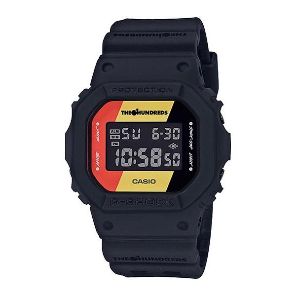 CASIO カシオ G-SHOCK ジーショック THE HUNDREDS ザ・ハンドレッツ メンズ ブラック DW-5600HDR-1JR 腕時計