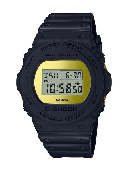 正規品 送料無料 贈呈 ポイント10倍 CASIO カシオ G-SHOCK Gショック Metallic ブラック Mirror Face メンズ メタリックミラーフェイス ゴールド 腕時計 登場大人気アイテム DW-5700BBMB-1JF