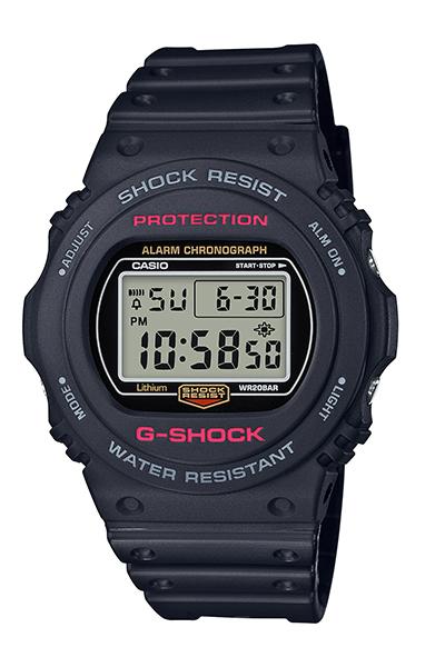 【たっぷりポイントMAX 10倍! おトクにGET!!】【送料無料】【国内正規品】 【G-SHOCK】【5700 Series】【DW-5750E-1JF】【時計 腕時計】