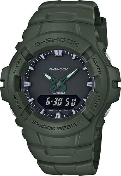 【たっぷりポイントMAX 10倍! おトクにGET!!】【送料無料】【国内正規品】 G-SHOCK(ジーショック)BASIC(ベーシック)G-100CU-3AJF【時計 腕時計】