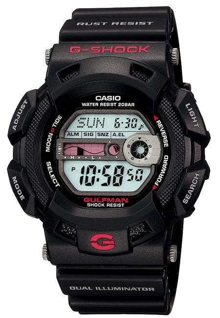 【たっぷりポイントMAX 10倍! おトクにGET!!】【送料無料】【国内正規品】 G-SHOCK(ジーショック)g-9100-1jf【時計 腕時計】