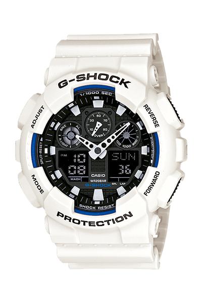 【たっぷりポイントMAX 10倍! おトクにGET!!】【送料無料】【国内正規品】G-SHOCK(ジーショック)BASIC(ベーシック)GA-100B-7AJF【時計 腕時計】