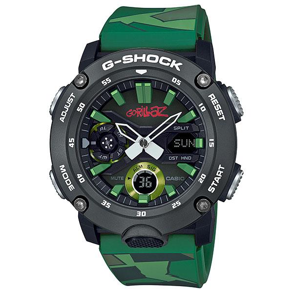 CASIO カシオ G-SHOCK Gショック SPECIAL スペシャル G-SHOCK×Gorillazコラボレーションモデル ゴリラズ グリーン GA-2000GZ-3AJR 腕時計