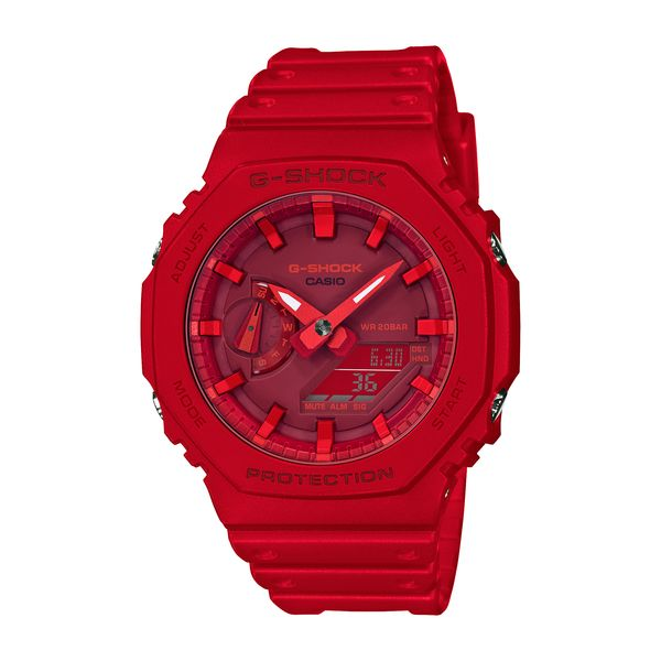 CASIO カシオ G-SHOCK Gショック BASIC ベーシック メンズ レッド GA-2100-4AJF 腕時計