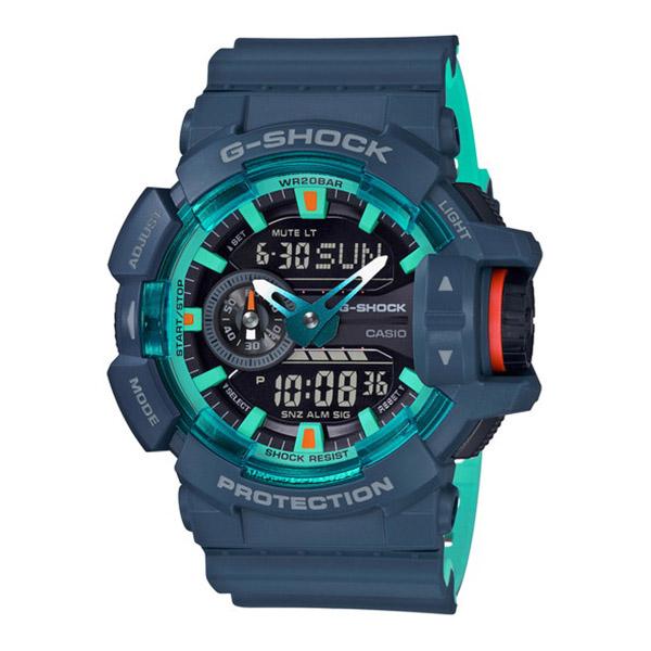 CASIO カシオ G-SHOCK ジーショック SPECIAL COLOR スペシャルカラー メンズ ネイビーブルー GA-400CC-2AJF 腕時計