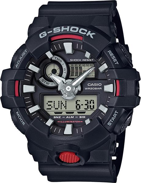 【たっぷりポイントMAX 10倍! おトクにGET!!】【送料無料】【国内正規品】 G-SHOCK(ジーショック)GA-700 Series(GA-700 シリーズ)GA-700-1AJF【時計 腕時計】
