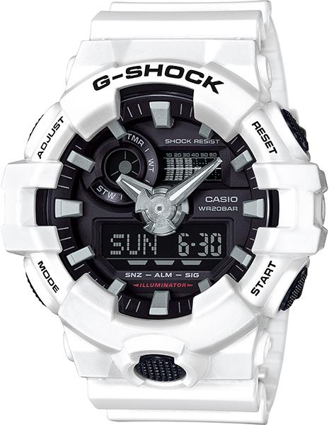 【たっぷりポイントMAX 10倍! おトクにGET!!】【送料無料】【国内正規品】 G-SHOCK(ジーショック)GA-700 Series(GA-700 シリーズ)GA-700-7AJF【時計 腕時計】