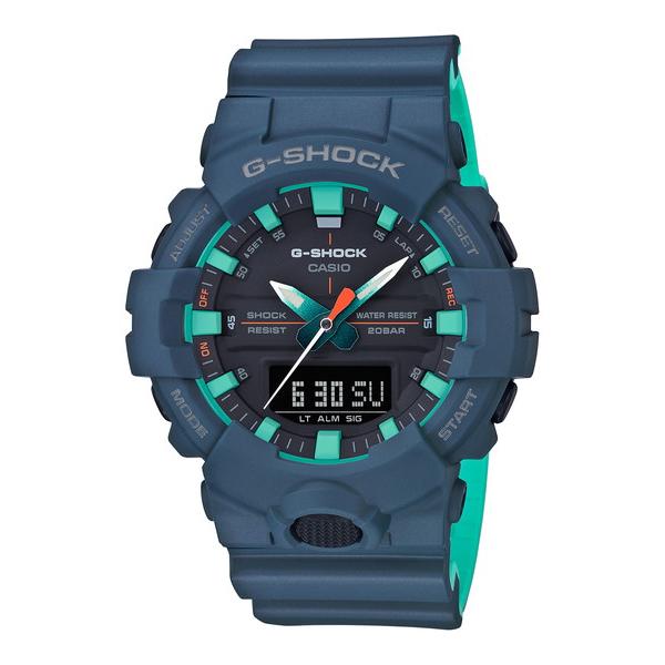 CASIO カシオ G-SHOCK ジーショック SPECIAL COLOR スペシャルカラー メンズ ネイビーブルー GA-800CC-2AJF 腕時計