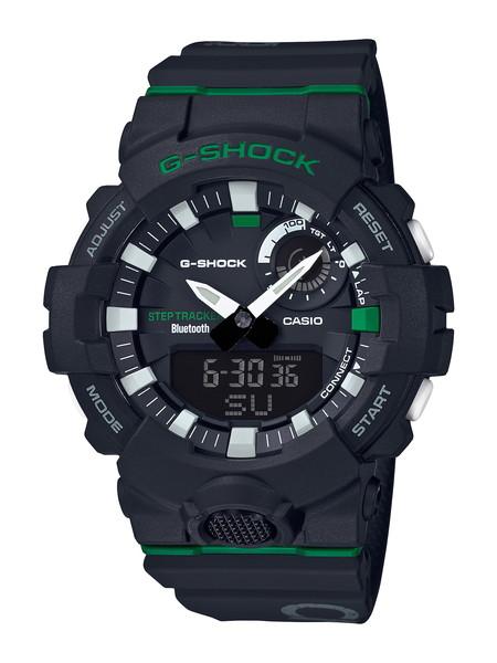 CASIO カシオ G-SHOCK ジーショック G-SQUAD ジースクワッド DAGGER 3 COLOR ダガー3カラー メンズ ブラック GBA-800DG-1AJF 腕時計