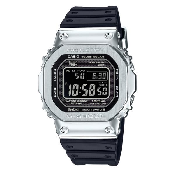 【新作】【新製品】G-SHOCK ジーショック メンズ フルメタル シルバー ブラック GMW-B5000-1JF 腕時計