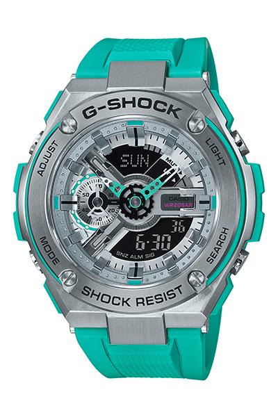 【たっぷりポイントMAX10倍! ショッピングローンMAX60回無金利】【送料無料】【国内正規品】【G-SHOCK】【SPECIAL COLOR】【GST-410-2AJF】【時計 腕時計】