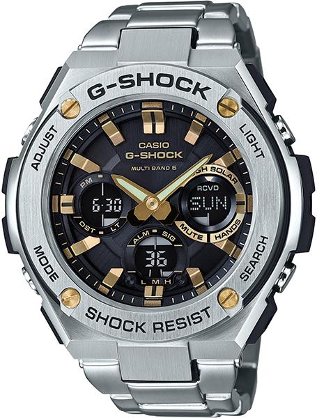 【たっぷりポイントMAX10倍! ショッピングローンMAX60回無金利】【送料無料】【国内正規品】G-SHOCK(ジーショック)G-STEEL(Gスチール)GST-W110D-1A9JF【時計 腕時計】