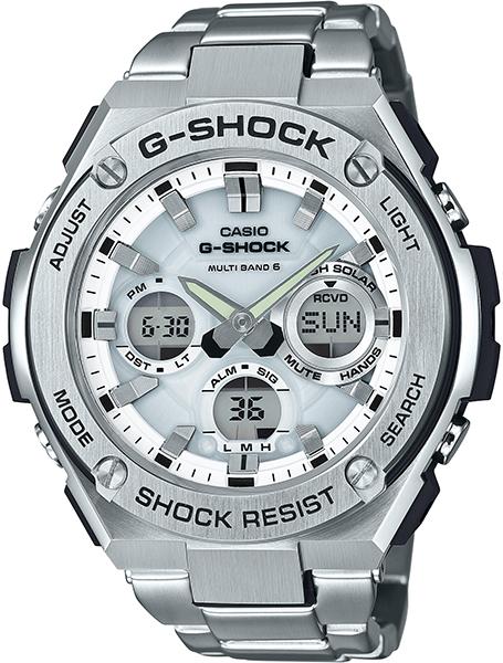 【たっぷりポイントMAX10倍! ショッピングローンMAX60回無金利】【送料無料】【国内正規品】G-SHOCK(ジーショック)G-STEEL(Gスチール)GST-W110D-7AJF【時計 腕時計】
