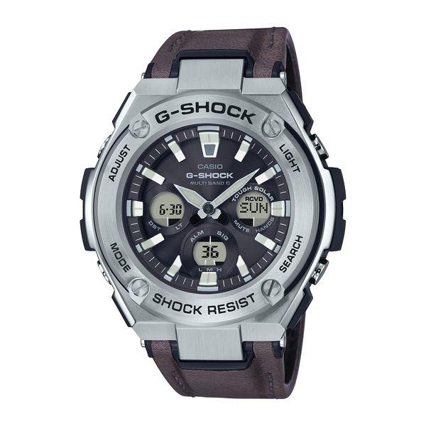 CASIO カシオ G-SHOCK ジーショック G-STEEL ミドルサイズ 電波ソーラー メンズ GST-W330L-1AJF