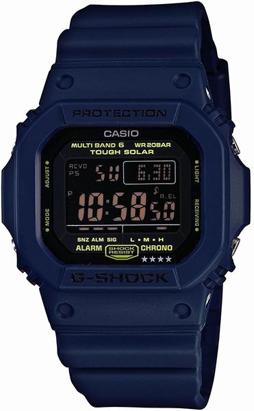 【たっぷりポイントMAX 10倍! おトクにGET!!】【送料無料】【国内正規品】G-SHOCK(ジーショック)GW-M5610 Series(GW-M5610 シリーズ)GW-M5610NV-2JF【ペアウォッチ】【時計 腕時計】