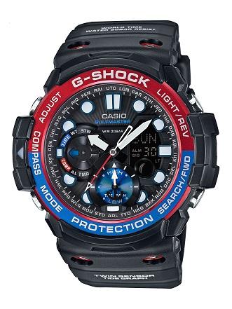 【たっぷりポイントMAX10倍! ショッピングローンMAX60回無金利】【送料無料】【国内正規品】G-SHOCK(ジーショック)GN-1000-1AJF【時計 腕時計】