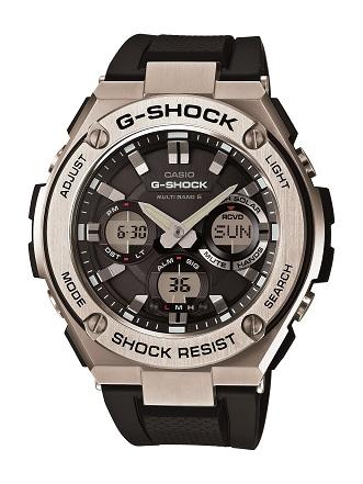 【たっぷりポイントMAX10倍! ショッピングローンMAX60回無金利】【送料無料】【国内正規品】G-SHOCK(ジーショック)G-STEEL(Gスチール)GST-W110-1AJF【時計 腕時計】