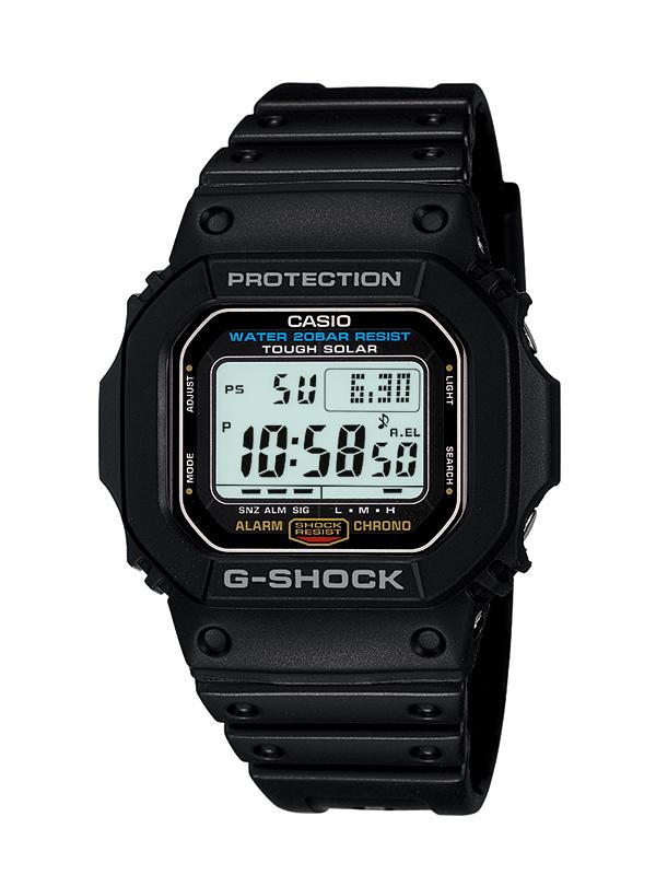 【たっぷりポイントMAX 10倍! おトクにGET!!】【送料無料】【国内正規品】G-SHOCK(ジーショック)G-5600E-1JF【時計 腕時計】