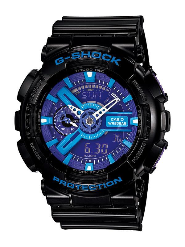 【たっぷりポイントMAX 10倍! おトクにGET!!】【送料無料】【国内正規品】G-SHOCK(ジーショック)GA-110HC-1AJF【時計 腕時計】