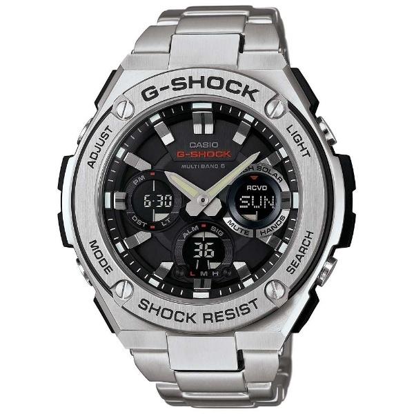 【たっぷりポイントMAX10倍! ショッピングローンMAX60回無金利】【送料無料】【国内正規品】G-SHOCK(ジーショック)G-STEEL(Gスチール)GST-W110D-1AJF【時計 腕時計】