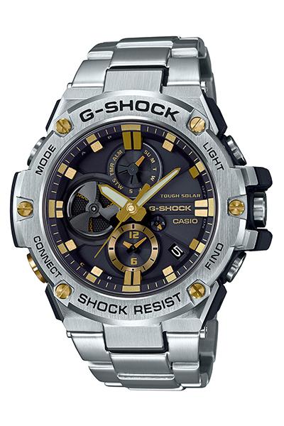 G-SHOCK(ジーショック)Bluetooth®搭載タフネスクロノグラフGST-B100D-1A9JF
