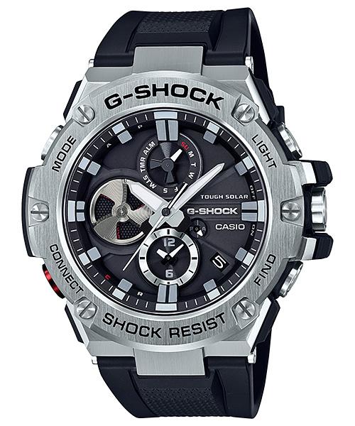 【たっぷりポイントMAX10倍! ショッピングローンMAX60回無金利】【送料無料】【国内正規品】【G-SHOCK】【Bluetooth®搭載タフネスクロノグラフ】【GST-B100-1AJF】【時計 腕時計】