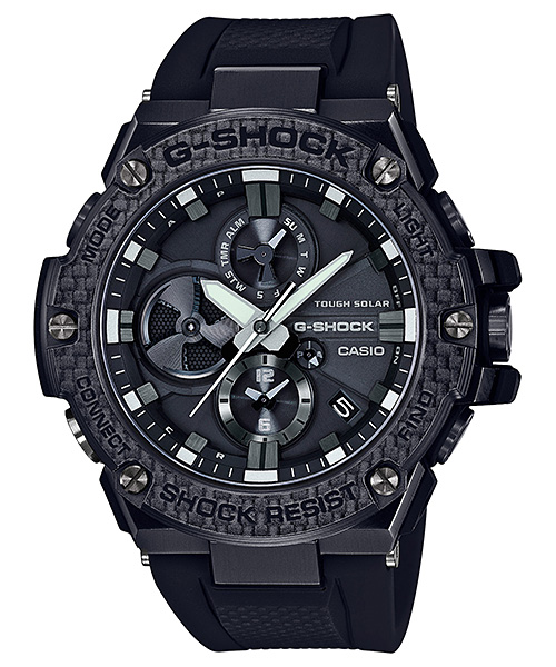 【たっぷりポイントMAX10倍! ショッピングローンMAX60回無金利】【送料無料】【国内正規品】【G-SHOCK】【Bluetooth®搭載タフネスクロノグラフ】【GST-B100X-1AJF】【時計 腕時計】