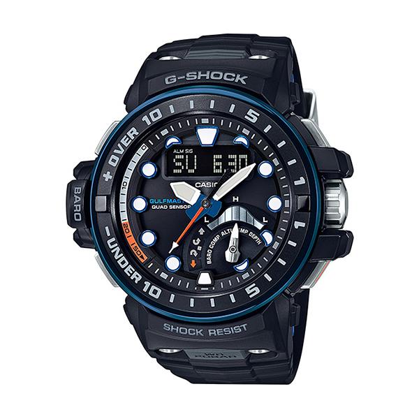 【たっぷりポイントMAX10倍! ショッピングローンMAX60回無金利】【送料無料】【国内正規品】【G-SHOCK】【GULFMASTER】【GWN-Q1000A-1AJF】【時計 腕時計】
