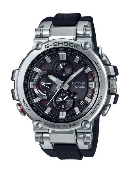 G-SHOCK ジーショック MT-G メンズ TRIPLE G RESIST シルバー ブラック MTG-B1000-1AJF 腕時計