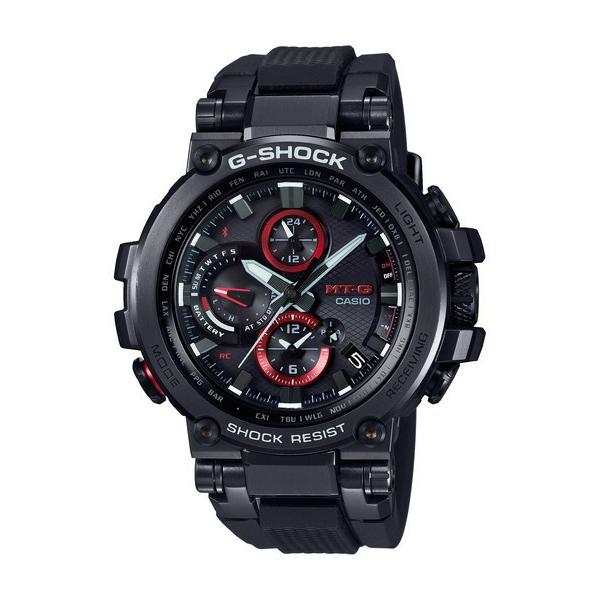 G-SHOCK ジーショック MT-G メンズ TRIPLE G RESIST ブラック MTG-B1000B-1AJF 腕時計