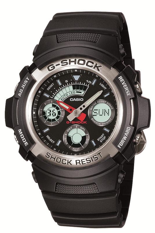 【たっぷりポイントMAX 10倍! おトクにGET!!】【送料無料】【国内正規品】 G-SHOCK(ジーショック)AW-590-1AJF【時計 腕時計】