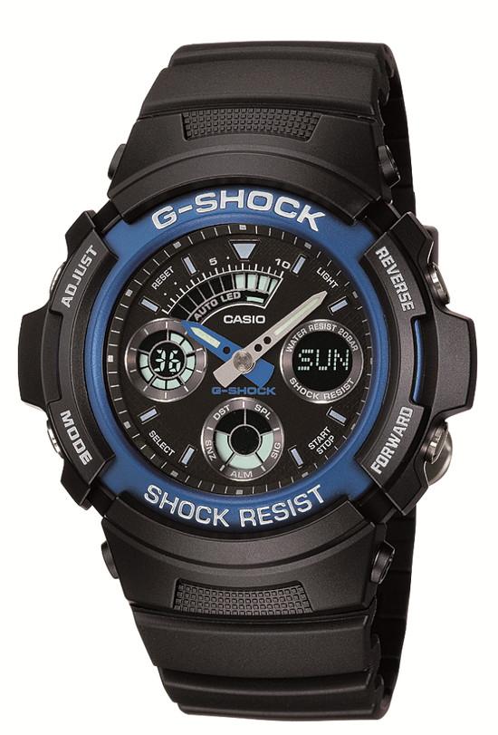 【たっぷりポイントMAX 10倍! おトクにGET!!】【送料無料】【国内正規品】G-SHOCK(ジーショック)BASIC(ベーシック)AW-591-2AJF【時計 腕時計】