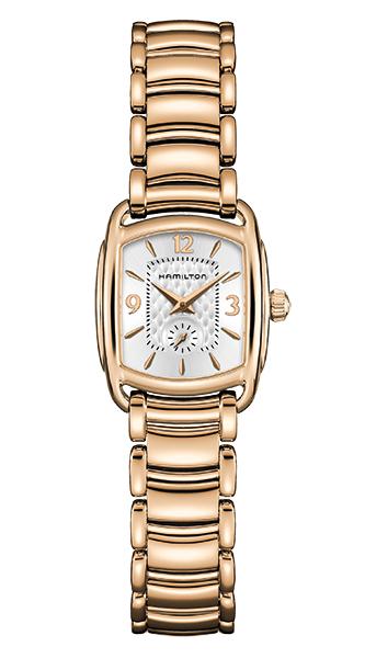 【メーカー取り寄せ】【ノベルティプレゼント】HAMILTON ハミルトン AMERICAN CLASSIC (アメリカン クラシック) BAGLEY QUARTZ(バグリー クォーツ) H12341155 【時計 腕時計】