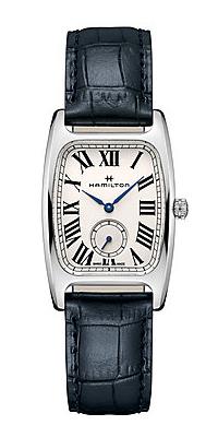 【ノベルティプレゼント】【メーカー取り寄せ】 HAMILTON ハミルトン Boulton アメリカンクラシック ボルトン メンズ レザーH13421611 腕時計