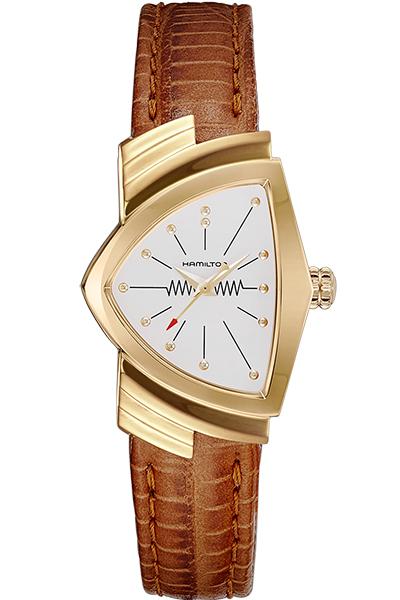 【ノベルティプレゼント】 HAMILTON ハミルトン VENTURA(ベンチュラ) QUARTZ(クオーツ) H24101511 【時計 腕時計】