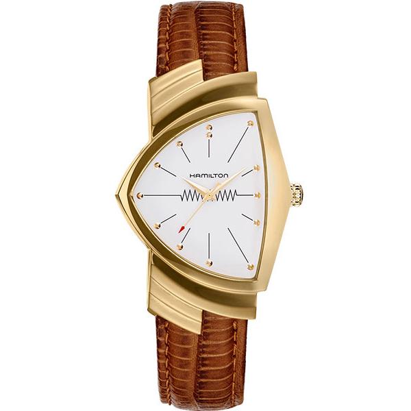 【ノベルティプレゼント】 HAMILTON ハミルトン VENTURA(ベンチュラ) QUARTZ(クオーツ) H24301511 【時計 腕時計】
