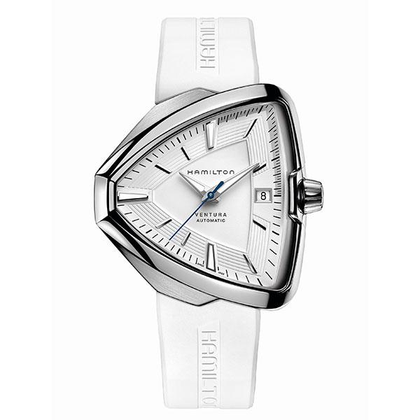 【4,000円OFFクーポン】【ノベルティプレゼント】HAMILTON ハミルトン VENTURA ベンチュラ メンズ ホワイト H24505311 腕時計