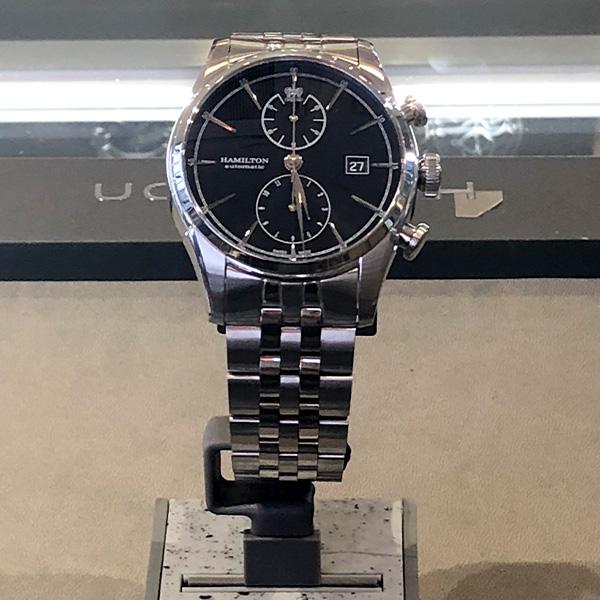 【ノベルティプレゼント】 HAMILTON ハミルトン AMERICAN CLASSIC アメリカンクラシック SPIRIT OF LIBERTY AUTO CHRONO スピリットオブリバティ オートクロノ メンズ H32416131 腕時計