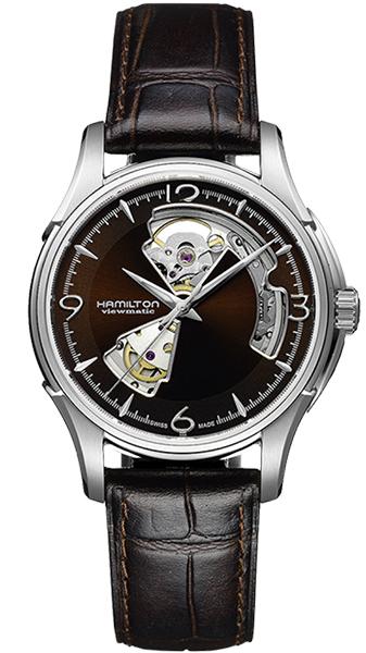 【メーカー取り寄せ】【ノベルティプレゼント】HAMILTON ハミルトン JAZZMASTER(ジャズマスター) OPEN HEART AUTO (オープン ハート オート) h32565595 【時計 腕時計】