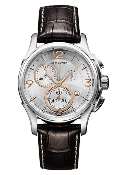 【ノベルティプレゼント】 HAMILTON ハミルトン JAZZMASTER(ジャズマスター) クロノクォーツ H32612555 【時計 腕時計】