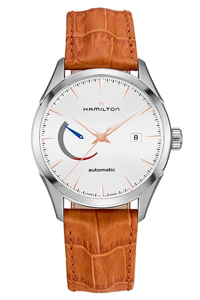 【ノベルティプレゼント】 HAMILTON ハミルトン JAZZMASTER(ジャズマスター) POWER RESERVE(パワーリザーブ) H32635511 【時計 腕時計】