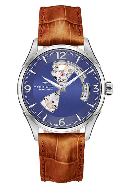 【4,000円OFFクーポン】【ノベルティプレゼント】【メーカー取り寄せ】HAMILTON ハミルトン JAZZMASTER (ジャズマスター) OPEN HEART AUTO (オープンハートオート) H32705541 【時計 腕時計】
