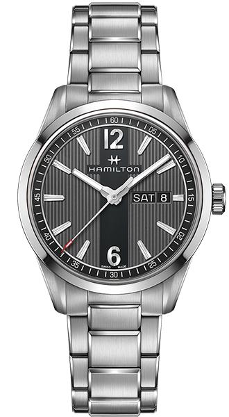 【メーカー取り寄せ】【ノベルティプレゼント】 HAMILTON ハミルトン BROADWAY(ブロードウェイ) DAY DATE QUARTZ(デイ デイト クオーツ) H43311135 【時計 腕時計】