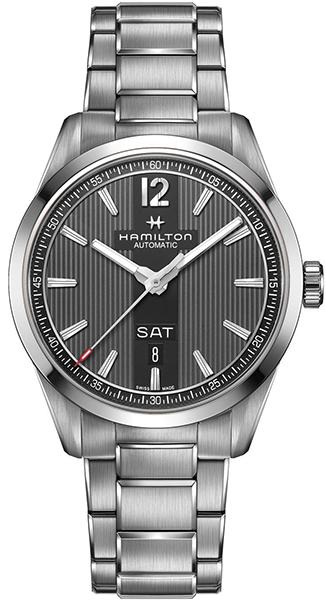 【メーカー取り寄せ】【ノベルティプレゼント】 HAMILTON ハミルトン BROADWAY(ブロードウェイ) DAY DATE(デイ デイト) H43515135 【時計 腕時計】