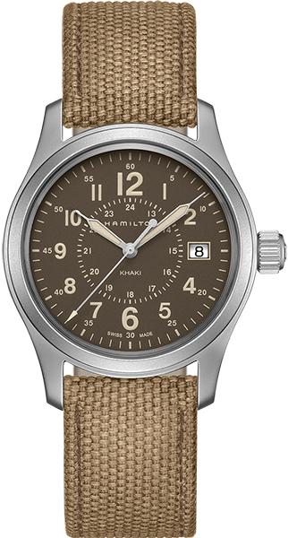 【ノベルティプレゼント】【メーカー取り寄せ】 HAMILTON ハミルトン KHAKI FIELD カーキ フィールド FIELD QUARTS フィールド クオーツ H68201993 【時計 腕時計】