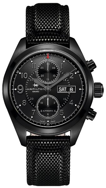 【ノベルティプレゼント】 HAMILTON ハミルトン KHAKI FIELD(カーキー フィールド) AUTO CHRONO(オート クロノ) H71626735 【時計 腕時計】