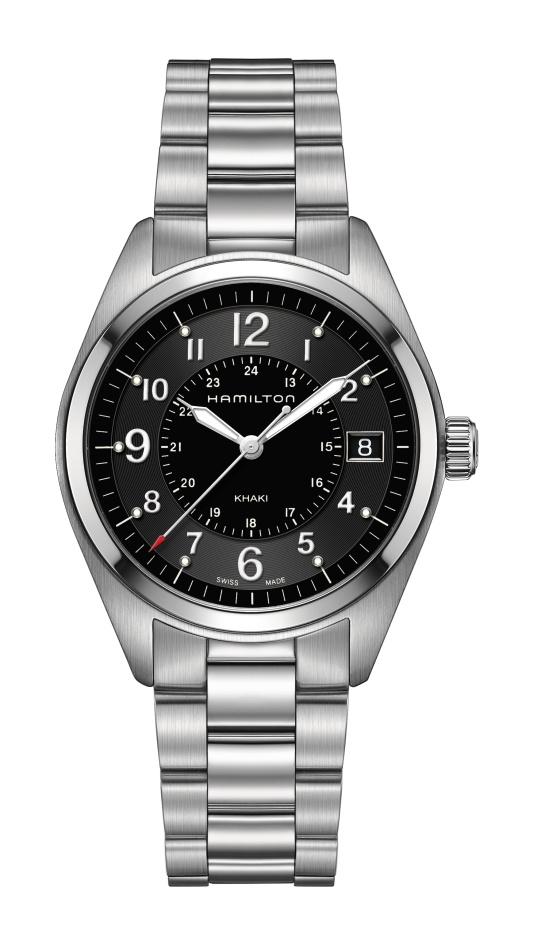【ノベルティプレゼント】【メーカー取り寄せ】 HAMILTON ハミルトン KHAKI FIELD カーキ フィールド FIELD QUARTZ(フィールド クォーツ) H68551933 【時計 腕時計】