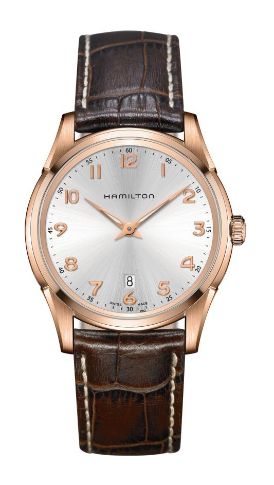 【ノベルティプレゼント】 HAMILTON ハミルトン JAZZMASTER ジャズマスター Thinline Quartz シンラインクオーツ H38541513 【時計 腕時計】