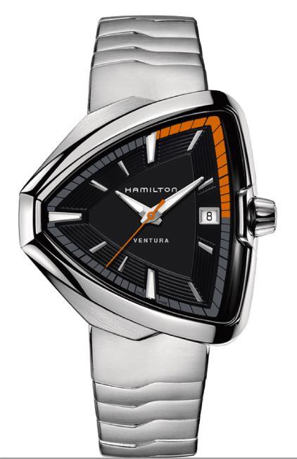 【メーカー取り寄せ】【ノベルティプレゼント】 HAMILTON ハミルトン VENTURA(ベンチュラ) ELVIS80 QUARTZ (エルヴィス80 クオーツ) H24551131 【時計 腕時計】
